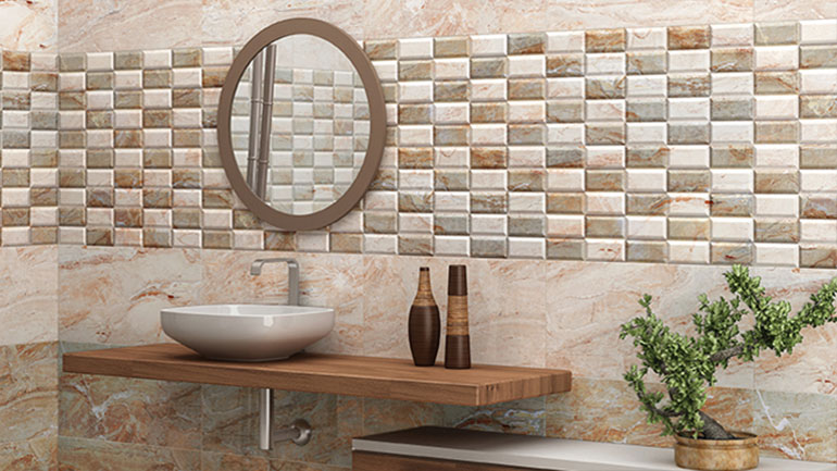 Ceramic Digital Wall Tile Demo