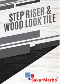 Step Riser & Wood Look Tile